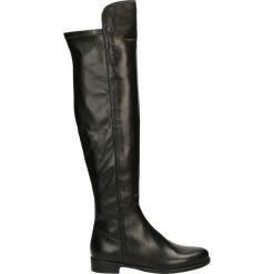 Kozaki - MG807 NAP NER. Czarne buty zimowe damskie marki Venezia, ze skóry. Za 429,00 zł.