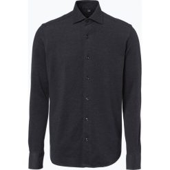 Koszule męskie na spinki: Finshley & Harding – Koszula męska – Black Label, szary