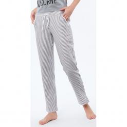 Etam - Spodnie piżamowe Damien. Niebieskie piżamy damskie marki Etam, l, z bawełny. Za 99,90 zł.