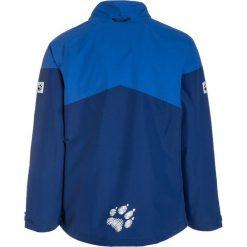 Jack Wolfskin POLAR WOLF 3IN1 Kurtka hardshell royal blue. Niebieskie kurtki chłopięce marki Jack Wolfskin, z hardshellu, outdoorowe. W wyprzedaży za 371,40 zł.