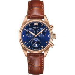 RABAT ZEGAREK CERTINA DS 8 C033.234.36.048.01. Niebieskie zegarki damskie CERTINA, szklane. W wyprzedaży za 2191,20 zł.