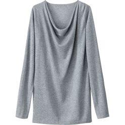 Swetry damskie: Wełniany pulower z małym płaskim kołnierzykiem