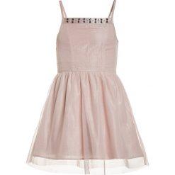 Sukienki dziewczęce z falbanami: Abercrombie & Fitch BARE SHINE SKATER Sukienka koktajlowa rose