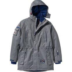 Długa kurtka funkcyjna Regular Fit bonprix dymny szary. Szare kurtki męskie bomber bonprix, m. Za 299,99 zł.