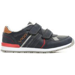 Granatowe Buty Sportowe Advance Warning. Czarne buty sportowe chłopięce Born2be, z okrągłym noskiem, na płaskiej podeszwie, na rzepy. Za 79,99 zł.