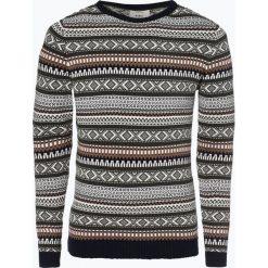 Redefined Rebel - Sweter męski – Bartair, brązowy. Niebieskie swetry klasyczne męskie marki OLYMP SIGNATURE, m, paisley. Za 179,95 zł.