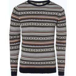 Swetry męskie: Redefined Rebel - Sweter męski – Bartair, brązowy