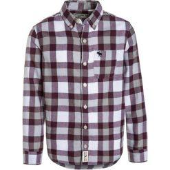 Abercrombie & Fitch COZY PLAID Koszula grey/burg. Niebieskie bluzki dziewczęce bawełniane marki Abercrombie & Fitch. W wyprzedaży za 135,20 zł.
