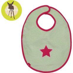 Śliniak bawełniany wodoodporny 6-24m Starlight magenta (LTEXBM068). Czerwone śliniaki Lässig, z bawełny. Za 54,29 zł.