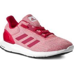 Buty adidas - Cosmic 2 W S80661 Ftwwht/Enepn. Czerwone buty do biegania damskie Adidas, z materiału. W wyprzedaży za 199,00 zł.