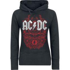 Bluzy rozpinane damskie: AC/DC Rock N Roll Train Bluza z kapturem damska czarny