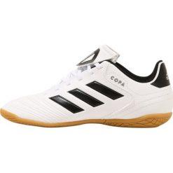 Adidas Performance COPA TANGO 18.4 IN Halówki white/red/black. Białe buty sportowe męskie adidas Performance, z materiału. Za 169,00 zł.