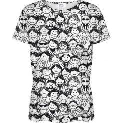 Colour Pleasure Koszulka damska CP-030 137 czarno-biała r. XS/S. Białe bluzki damskie Colour pleasure, s. Za 70,35 zł.