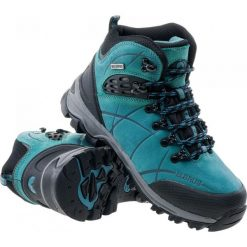 Buty trekkingowe damskie: ELBRUS Buty damskie Mendoza Mid WP Peakock/Turquoise/Black r. 36