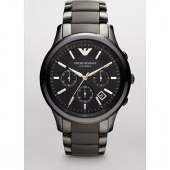 Emporio Armani - Zegarek AR1452. Czarne zegarki męskie marki Fossil, szklane. W wyprzedaży za 1799,00 zł.