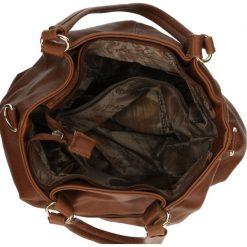 TOREBKA 8725. Brązowe torebki klasyczne damskie Casu. Za 69,99 zł.