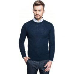 Sweter albern półgolf granatowy. Niebieskie swetry klasyczne męskie Recman, m, z golfem. Za 199,00 zł.