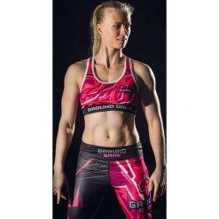 Biustonosze sportowe: Ground Game Sportswear Stanik Pink różowy r. L (BRAPINK03)