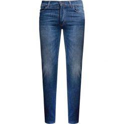 Rurki męskie: Spodnie JECKERSON OZ 11 BLU USED 3D Granatowy