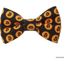 Muchy męskie: Mucha Black Bitcoin