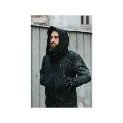 Parka All Black. Czarne parki męskie The urban beard, xl. Za 415,00 zł.