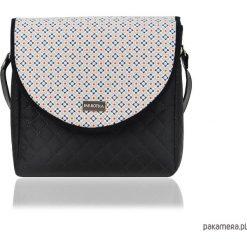 TOREBKA PURO 1982 MOSAIC SMALL. Szare torebki klasyczne damskie Pakamera, w kolorowe wzory. Za 179,00 zł.