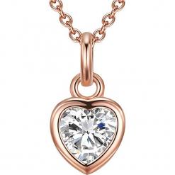 Pozłacany naszyjnik z zawieszką - dł. 45 cm. Żółte naszyjniki damskie Stylowa biżuteria, pozłacane. W wyprzedaży za 108,95 zł.