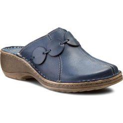 Chodaki damskie: Klapki WALDI - 673 Granat