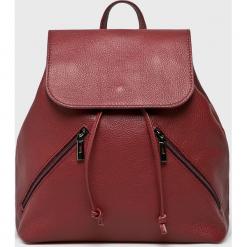 Answear - Plecak skórzany. Brązowe plecaki damskie ANSWEAR, ze skóry. W wyprzedaży za 229,90 zł.