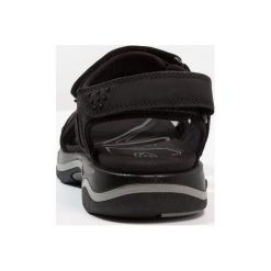 Keen RIALTO 3 POINT Sandały trekkingowe black/neutral gray. Czarne sandały męskie skórzane Keen. Za 499,00 zł.