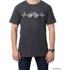 Koszulka T-SHIRT EKG Enduro. Czarne t-shirty męskie z nadrukiem marki Pakamera, m, z kapturem. Za 75,00 zł.