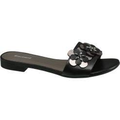 Chodaki damskie: klapki damskie Graceland czarne