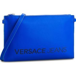 Torebka VERSACE JEANS - E3VSBPBA 70709 202. Niebieskie listonoszki damskie Versace Jeans, z jeansu. W wyprzedaży za 239,00 zł.