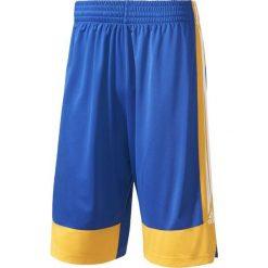 Adidas Spodenki męskie Commander 16 niebiesko-żółte r. XL (AZ3510). Niebieskie spodenki sportowe męskie Adidas, sportowe. Za 94,44 zł.