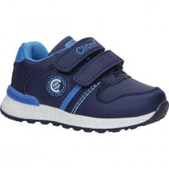Granatowe buty sportowe na rzepy Casu F-709. Szare buciki niemowlęce Casu, na rzepy. Za 59,99 zł.