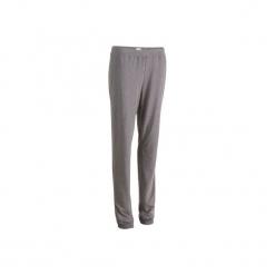 Spodnie dresowe Regular Gym & Pilates FIT+ 500 damskie. Niebieskie bryczesy damskie DOMYOS, l, z bawełny, na jogę i pilates. Za 34,99 zł.