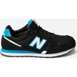New Balance - Buty ML554JB. Czarne buty skate męskie New Balance, z materiału. W wyprzedaży za 219,90 zł.