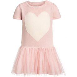 Sukienki dziewczęce dzianinowe: GAP HEART TUTU BABY Sukienka dzianinowa misty rose