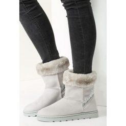 Jasnoszare Śniegowce Whole World. Szare buty zimowe damskie vices. Za 99,99 zł.