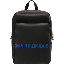 Calvin Klein Jeans SMOOTH BACKPACK Plecak black. Czarne plecaki męskie Calvin Klein Jeans, z jeansu. Za 669,00 zł.