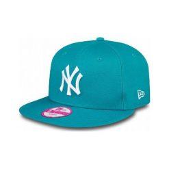 New Era Czapka Z Daszkiem 9fifty Fashion Ess New York Yankees Teal. Zielone czapki z daszkiem damskie New Era, z bawełny. W wyprzedaży za 99,00 zł.
