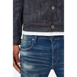 G-Star Raw - Jeansy 3301 Slim. Niebieskie jeansy męskie G-Star RAW, z bawełny. Za 459,90 zł.