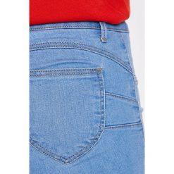 Tally Weijl - Szorty. Szare szorty jeansowe damskie marki TALLY WEIJL, casualowe. W wyprzedaży za 49,90 zł.