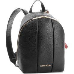 Plecaki damskie: Plecak CALVIN KLEIN - City Leather Backpack K60K604479 001