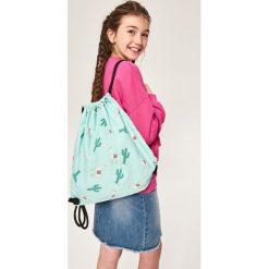 Plecaki damskie: Plecak worek - Zielony