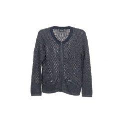 Swetry rozpinane / Kardigany Kookaï  TOULIA. Niebieskie kardigany damskie marki BOTD, l. Za 335,20 zł.