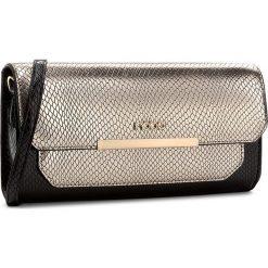 Torebka NOBO - NBAG-D0060-C023 Czarny Ze Złotym. Czarne torebki klasyczne damskie marki Nobo, ze skóry ekologicznej. W wyprzedaży za 99,00 zł.
