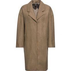 Płaszcze damskie: Płaszcz z materiału w optyce wełny bonprix wielbłądzia wełna