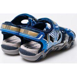 Geox - Sandały dziecięce. Szare sandały chłopięce marki Blukids, z gumy. W wyprzedaży za 219,90 zł.