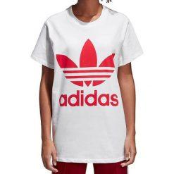 Adidas Koszulka damska Originals Treofil Tee biała r. 34 (CY2275). Białe bluzki damskie Adidas. Za 143,19 zł.
